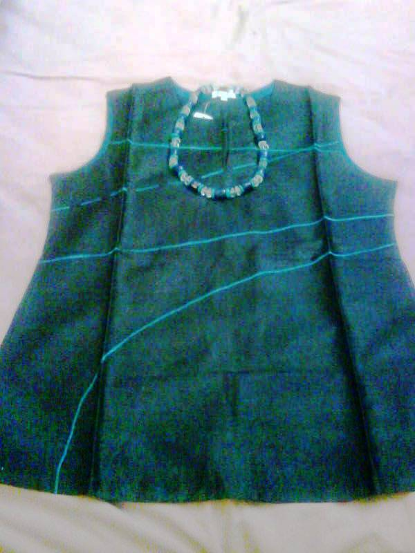 Kurta and necklace