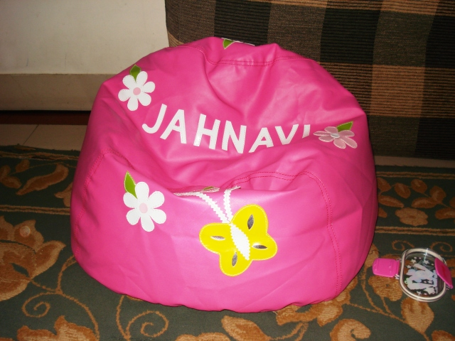 A Personalized Bean Bag